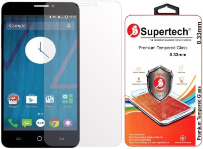 Supertech Tempered Glass Guard for Micromax YU Yureka