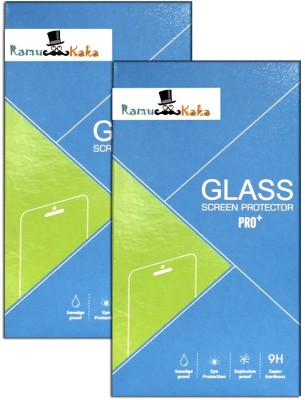 RamuKaka CTG_Vi_209(Pack of 2) Tempered Glass for Vivo Y15 Dual