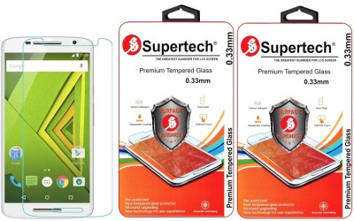 Supertech Tempered Glass Guard for Motorola Moto X Play