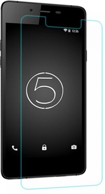 Elecsys F-26 High Quality scratch Proof Pack Of 3 Tempered Glass for Micromax Canvas Silver 5