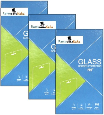 RamuKaka Vi_344(Pack of 3) Tempered Glass for Vivo Y15 Dual