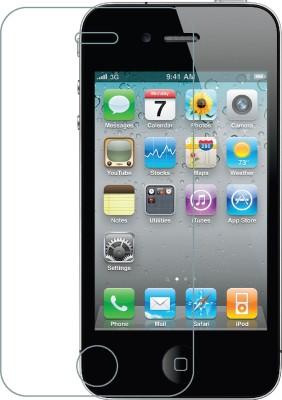 VJOY APPLE0120160026 Tempered Glass for Apple iPhone 4 CDMA