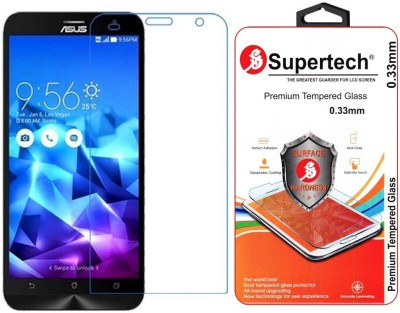Supertech Tempered Glass Guard for Asus Zenfone 2 Deluxe 5.5