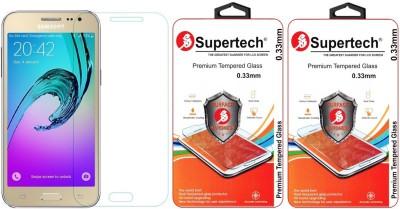 Supertech Tempered Glass Guard for Samsung Galaxy J2
