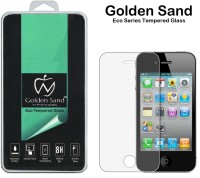 Golden Sand Tempered Glass Guard for Apple iPhone 4S, Apple iPhone 4