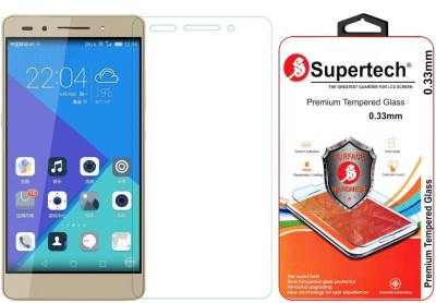 Supertech PLK-UL00 Pro Plus HD Clear Screen Protector Tempered Glass for Huawei Honor 7