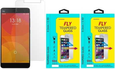 Fly Mi-4 Curved Pack of 2 Tempered Glass for Xiaomi Mi4