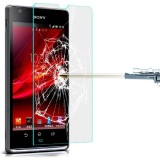 Heartly Tempered Glass Guard for Sony Xp...