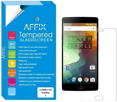 Affix Tg0067 Premium Tempered Glass for OnePlus 2
