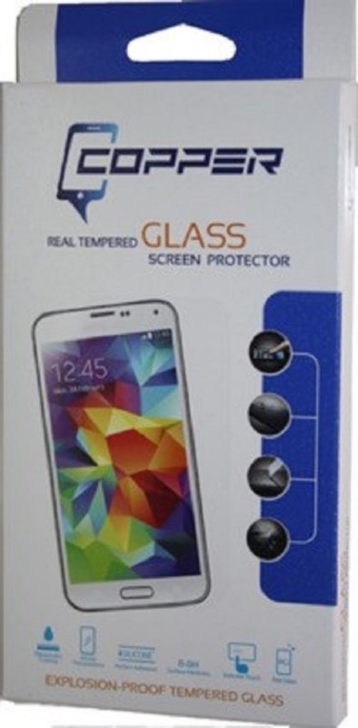 Copper Tempered Glass Guard for Micromax Canvas 2
