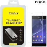 Foso Tempered Glass Guard for Sony Xperi...