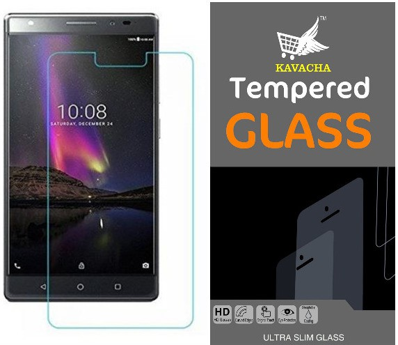 Kavacha Tempered Glass Guard for Lenovo Phab2 Plus