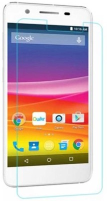 Adam Suave AS181285 Tempered Glass for Micromax Silver 5