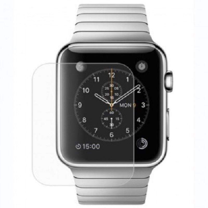 Mudshi Tempered Glass Guard for Apple iWatch