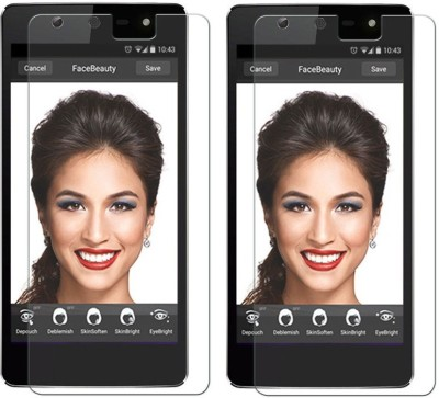 Vardhaman Communications Tp347 2 Set Tempered Glass for Micromax Bolt Q324