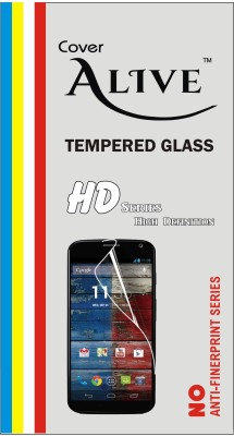 Cover Alive Tempered Glass Guard for Motorola Moto X Style