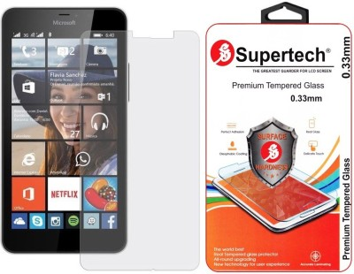 Supertech Tempered Glass Guard for Microsoft Lumia 640 XL