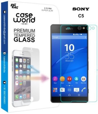 Case World TGSXC5 Tempered Glass for Sony Xperia C5