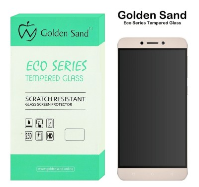 Golden Sand Tempered Glass Guard for Letv Le 1S, LeEco Le 1S