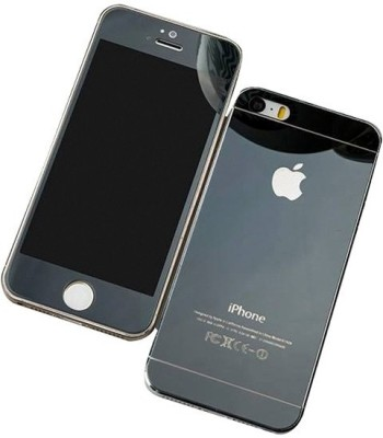 GG ENTERPRISES 5 5s black Tempered Glass for Iphone 5 5s