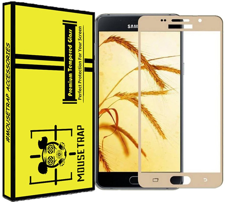 MOUSETRAPS Tempered Glass Guard for SAMSUNG Galaxy A9 Pro