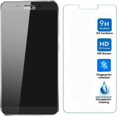 iSave HD Ultra Clear Anti-Burst Tempered Glass for XOLO ONE HD (Transparent)