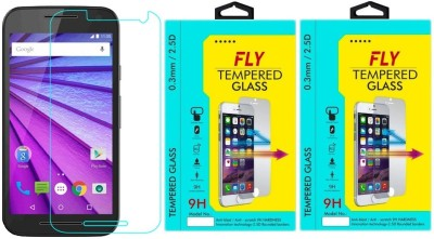 Fly XT 1550 9H Pro 0.33MM Pack of 2 Tempered Glass for Motorola Moto G3 (3rd Generation)