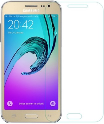 Bidas GJ2-Best Quality With HD Clearance Tempered Glass for Samsung Galaxy J2