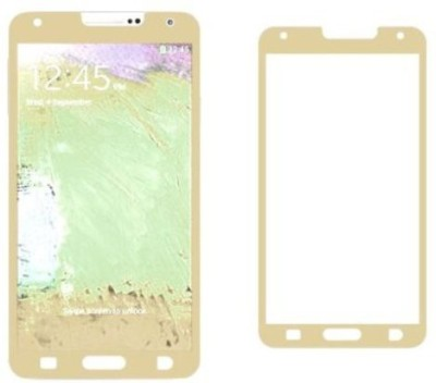 GG ENTERPRISES Note 3 Gold Tempered Glass for Samsung Note 3