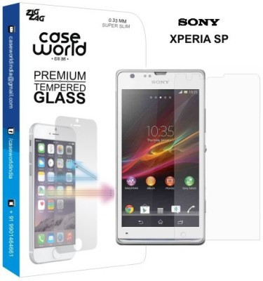 Case World TGXSP Tempered Glass for Sony Xperia SP