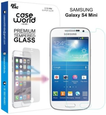 Case World TGS4M Tempered Glass for Samsung Galaxy S4 Mini