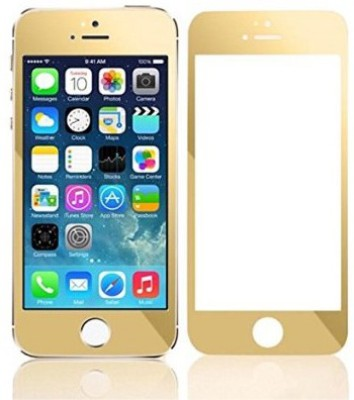 MAK TG_I5_Gold Tempered Glass for Apple iPhone 5, Apple iPhone 5S