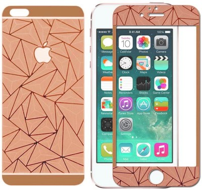 CASECRAFT 3d front back 28 Tempered Glass for Apple Iphone 6 plus