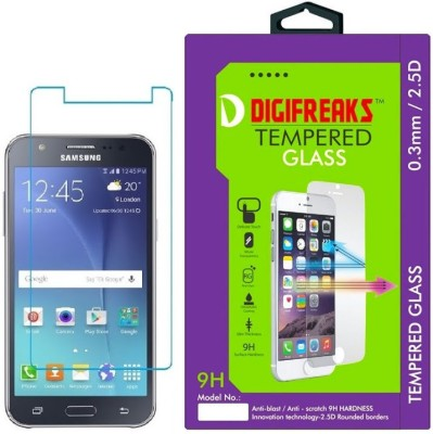 Digifreaks SM-J500F Oil Coated Screen Protector Tempered Glass for Samsung Galaxy J5