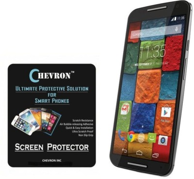 Chevron B511 AquaShieldz Pro Tempered Glass for Motorola Moto X (2nd Gen)