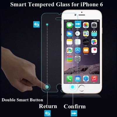 CaseTech Smart Button Touch Tempered Glass for Apple iPhone 6s