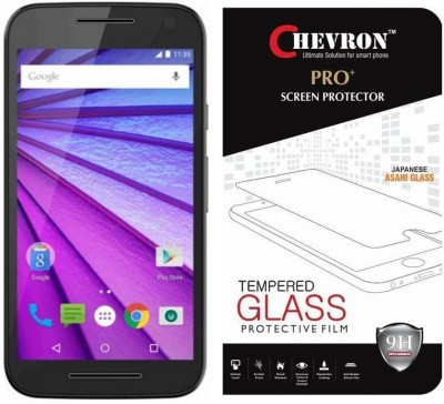Chevron Tempered Glass Guard for Motorola Moto G (3rd Gen)