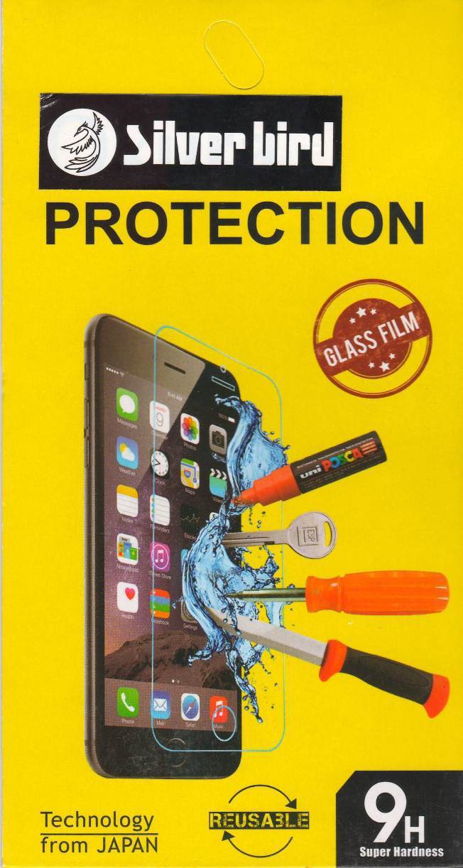 Silver Bird Tempered Glass Guard for Infocus M350