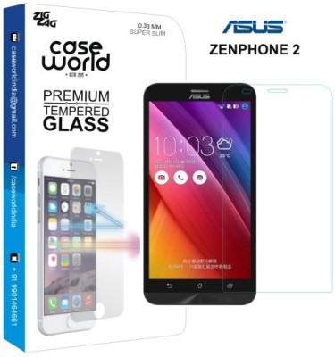 Case World TGZ2 Tempered Glass for Asus Zenfone 2