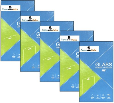 RamuKaka CTG_Xo_660(Pack of 5) Tempered Glass for Xolo 8x-1000