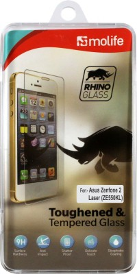 Molife Tempered Glass Guard for Asus Zenfone-2 Laser