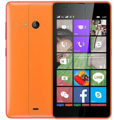 Crook Tempered Glass Guard for Nokia Lumia 540