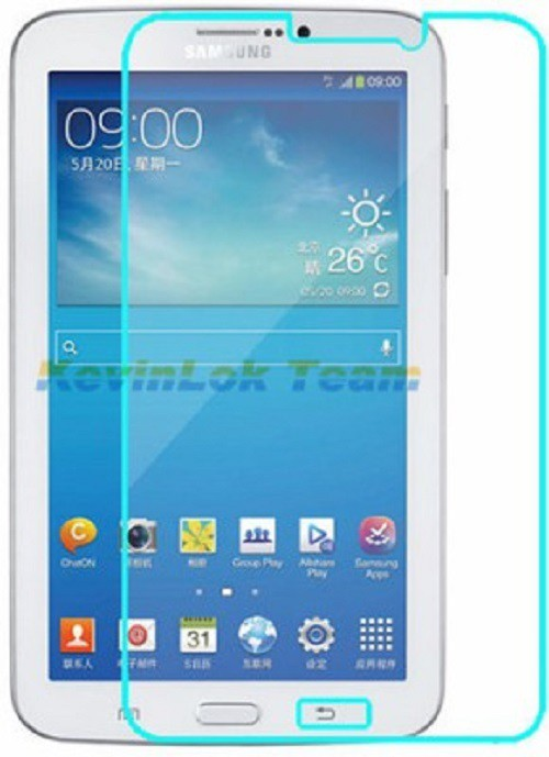 BKT Tempered Glass Guard for Samsung Galaxy Tab 3