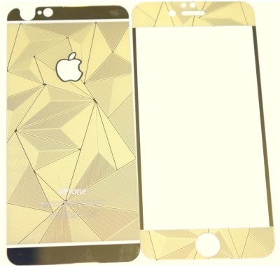 Pinnacle FRONT BACK 3D GOLD Tempered Glass for APPLE IPHONE 6