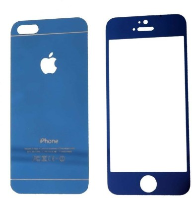 Pinnacle MIRRORED FRONT BACK Tempered Glass for APPLE IPHONE 5/5S