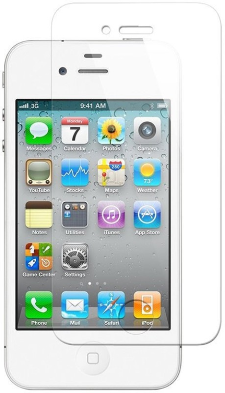 Accessories Zone 5648 Tempered Glass for Apple iPhone 4S
