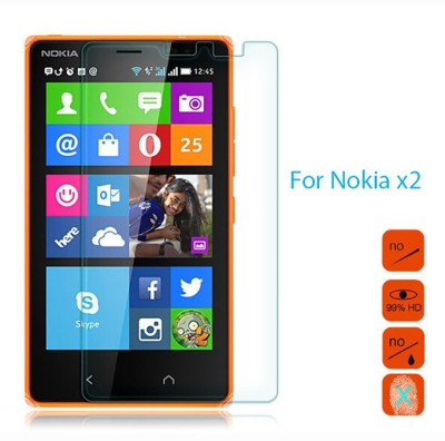 Bidas NX2-Best Quality With Hd Clearance Tempered Glass for Nokia X2