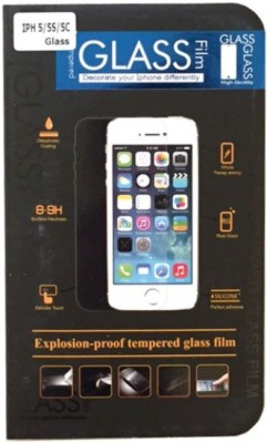 Retailadda i5s44402 Tempered Glass for Apple iPhone 5S, 5C, 5