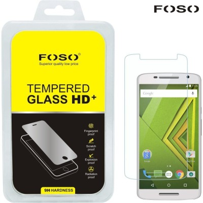 Foso Tempered Glass Guard for Motorola Moto X Play