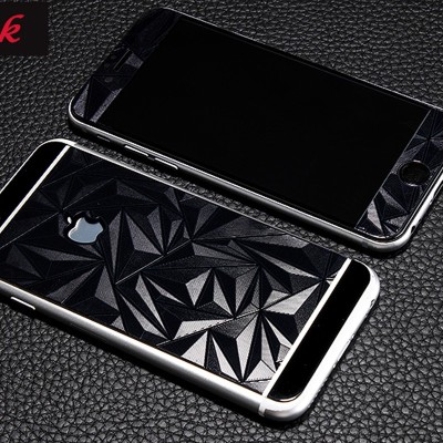 FireForces FF-3301 Front and Back 3D Diamond Tempered Glass for IPHONE 6/6S